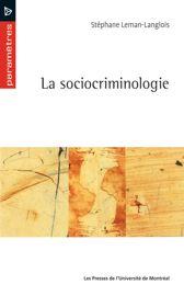La sociocriminologie
