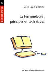 La terminologie : principes et techniques