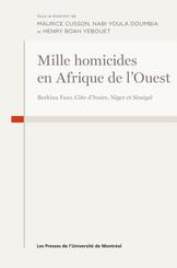Mille homicides en Afrique de l'Ouest