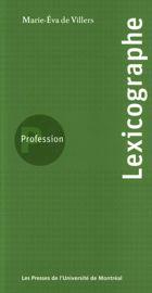 Profession lexicographe
