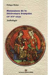 Naissances de la littérature française, IXe-XVe siècle