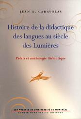 Histoire de la didactique des langues au siècle des Lumières