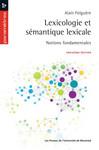 Lexicologie et sémantique lexicale