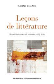 Troisième chapitre. La Littérature canadienne-française selon Samuel Baillargeon (1957)
