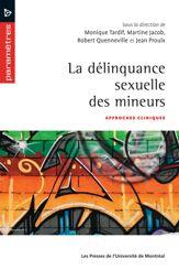 La délinquance sexuelle des mineurs
