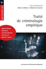 Traité de criminologie empirique