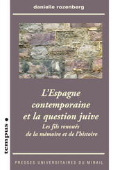 L'Espagne contemporaine et la question juive