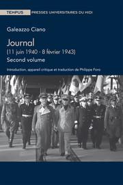 Journal (11 juin 1940 - 8 février 1943). Second volume