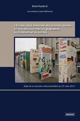 L'Europe, objet renouvelé des sciences sociales