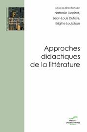 Approches didactiques de la littérature