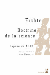 Fichte. Doctrine de la science