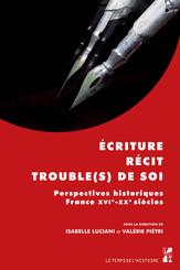 Écriture, récit, trouble(s) de soi