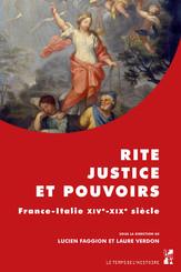 Rite, justice et pouvoirs