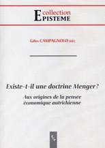 Existe-t-il une doctrine Menger ?