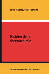 Histoire de la thermochimie