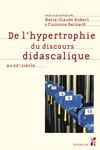 De l'hypertrophie du discours didascalique au XXesiècle