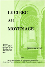 Le clerc : personnage de la fiction / personnage-fiction