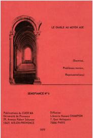 Le diable dans les légendiers français du xiiie siècle