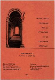 L'arrière-plan psychique et mythique de l'itinéraire de Perceral dans le Conte du Graal de Chrétien de Troyes