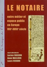 Formation et établissement d'un jeune notaire dauphinois à la veille de la Révolution: Pierre-Philippe Candy