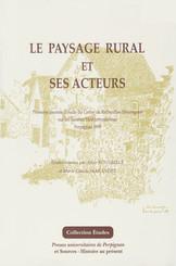 Le paysage rural et ses acteurs