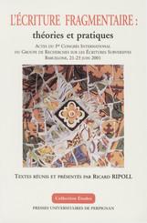 L'écriture fragmentaire