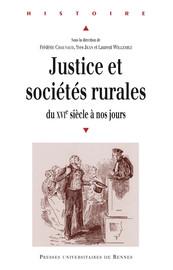 Justice et sociétés rurales