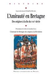 L'Amirauté en Bretagne