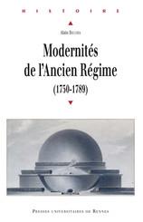 Modernités de l'Ancien Régime