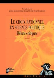Le choix rationnel en science politique