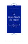 La consistance du social