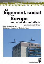 Le logement social en Europe au début du xxie siècle
