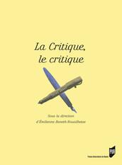 La critique, le critique