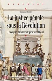 La justice pénale sous la Révolution