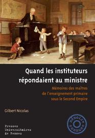 Chronologie sommaire de l'histoire de l'enseignement primaire (1848-1870)1
