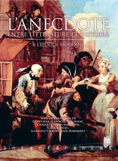 L'anecdote entre littérature et histoire