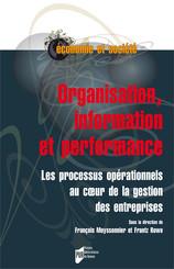 Organisation, information et performance