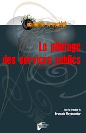 Le pilotage des services publics