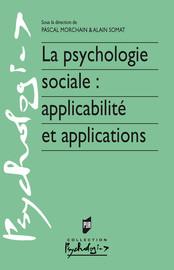 Introduction. De la vitalité de la recherche en psychologie sociale appliquée