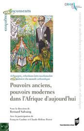 Le pouvoir dans les sociétés islamiques anciennes du XIXe siècle en Afrique de l'Ouest: l'exemple du Fouta-Djalon