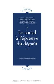 Le social à l'épreuve du dégoût