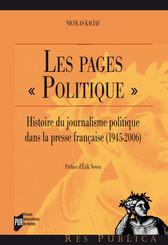 Les pages « Politique »