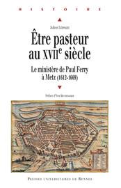 Être pasteur au XVIIe siècle