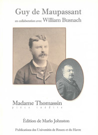 Madame Thomassin Postface Presses Universitaires De