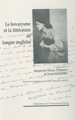 Le bovarysme et la littérature de langue anglaise