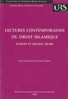 Lectures contemporaines du droit islamique