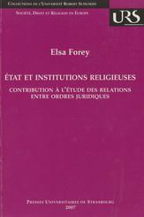 État et institutions religieuses