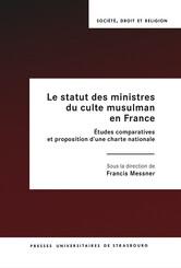 Le statut des ministres du culte musulman en France