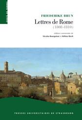 Lettres de Rome (1808-1810)