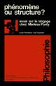 VI. L'ontologie du langage en question